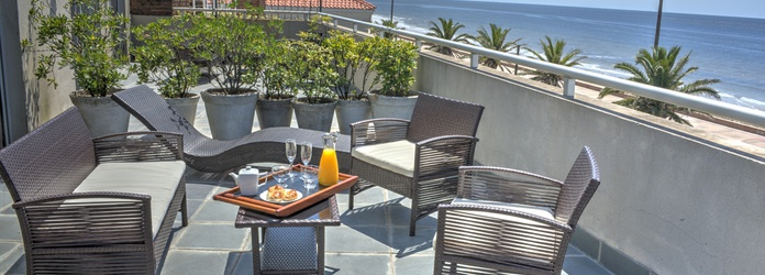Rambla apartament terrace to the Sea Regency Rambla Design Apart Hotel Montevideo