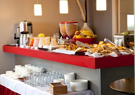Breakfast Regency Rambla Design Apart Hotel Montevideo