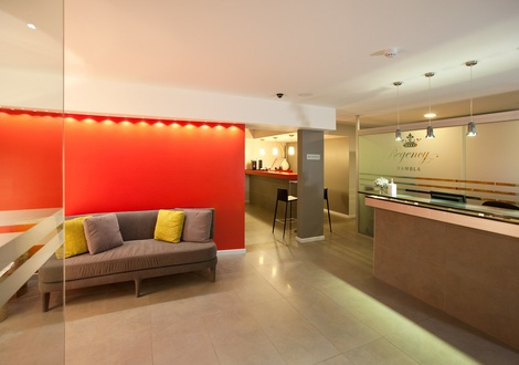 Reception Regency Rambla Design Apart Hotel Montevideo