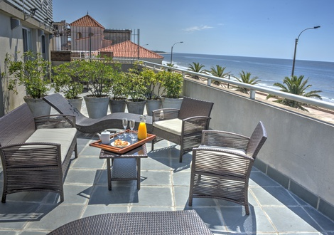 Sea terrace Regency Rambla Design Apart Hotel Montevideo